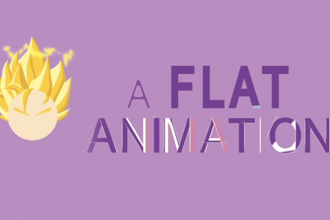A flat animation 1