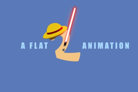 A flat animation 2